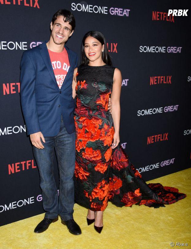 Gina Rodriguez et son fiancé Joe LoCicero