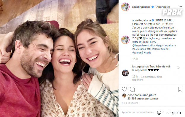 Clem saison 9 : Agustin Galiana, Lucie Lucas et Joséphine Berry