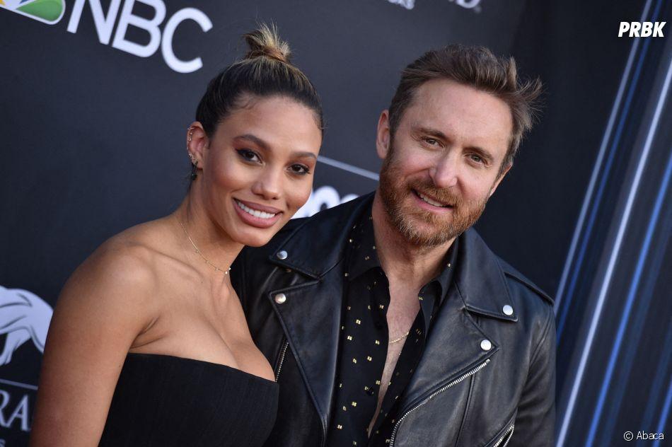 David Guetta et sa chérie aux Billboard Music Awards 2019