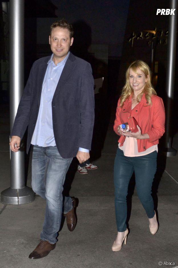 Melissa Rauch et son mari Winston Rauch