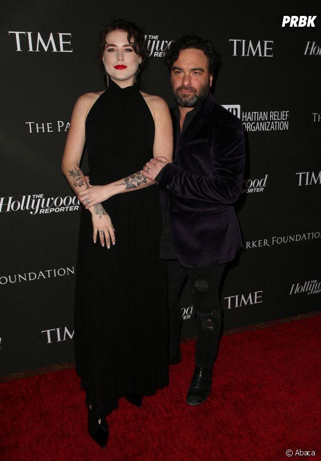 Johnny Galecki et sa compagne Alaina Meyer