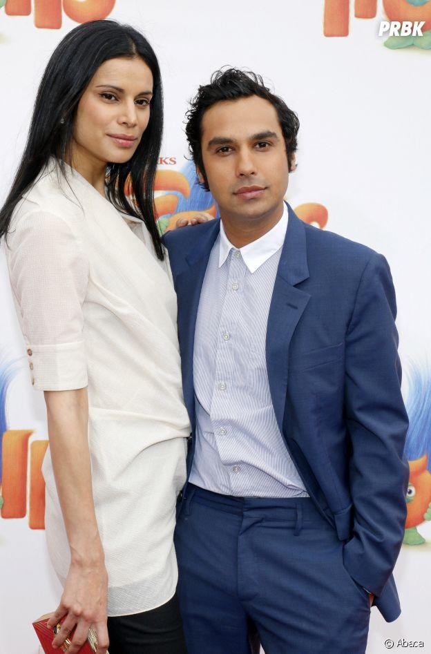 Kunal Nayyar et sa femme Neha Kapur