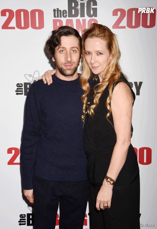 Simon Helberg et sa femme Jocelyn Towne