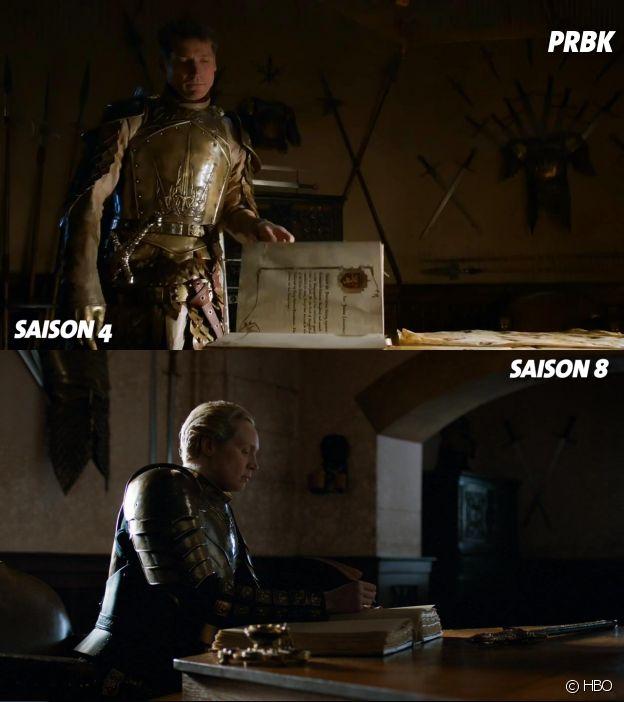 Game of Thrones : la scène du Livre des Frères dans la saison 4 et dans le final de la saison 8