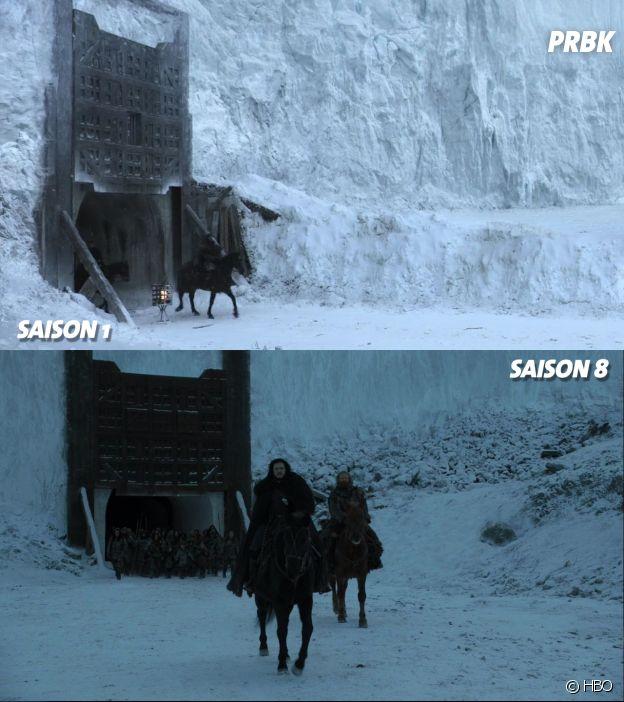 Game of Thrones : la première scène de la série VS la dernière scène