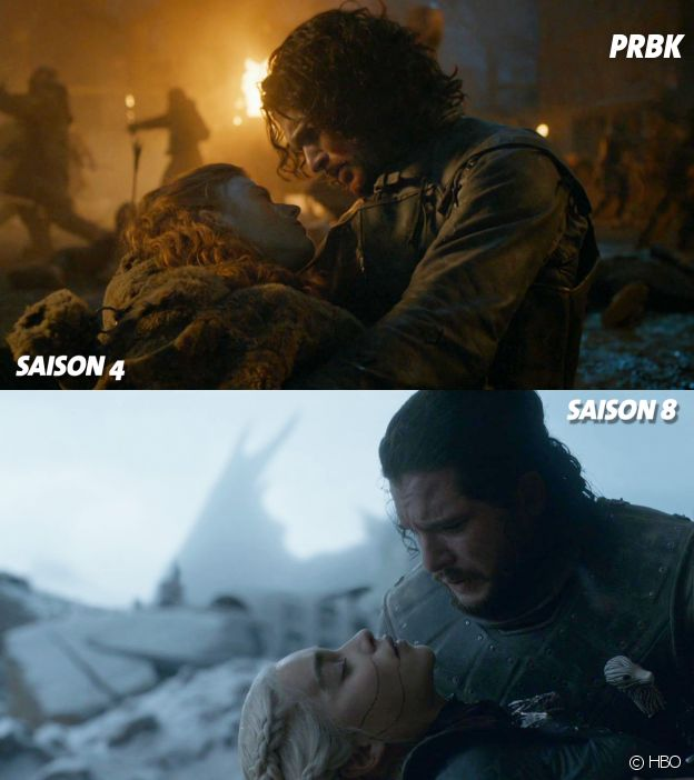 Game of Thrones : des plans similaires
