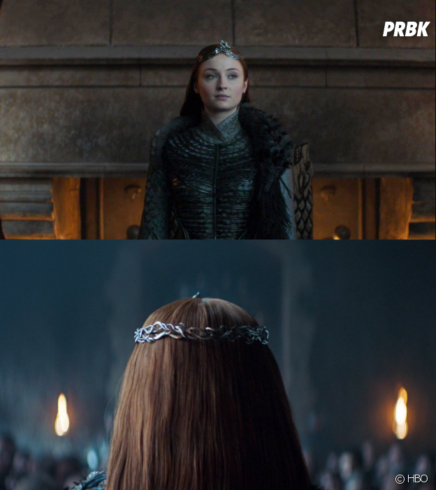 Game of Thrones : Sansa, les détails de sa tenue