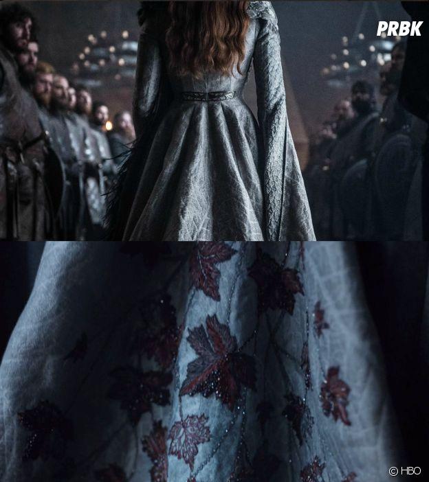 Game of Thrones : Sansa, les détails de sa tenue