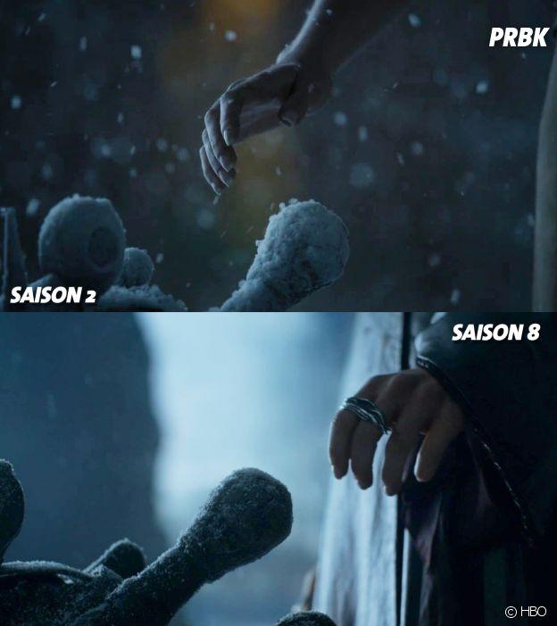 Game of Thrones : la vision de Daenerys VS l'épisode final de la saison 8