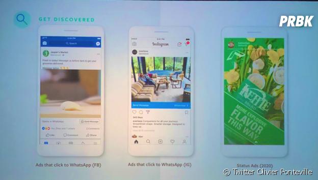 WhatsApp : un premier aperçu des publicités dévoilé