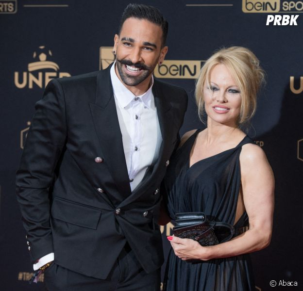 """Adil Rami séparé de Pamela Anderson : """"J'hallucine"""", """"ces accusations de violences sont fausses"""""""
