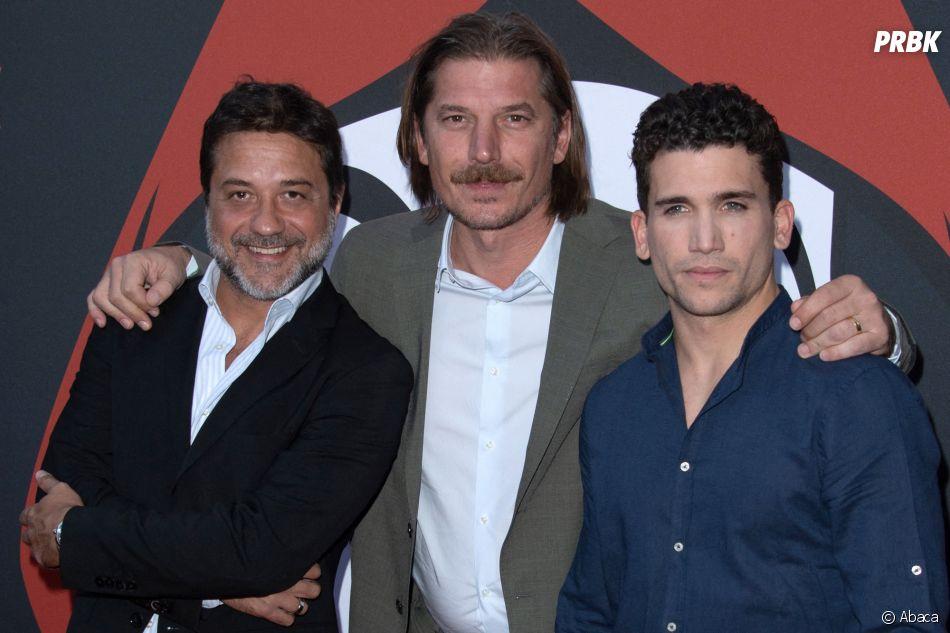 La Casa de Papel saison 3 : Jaime Lorente, Luka Peros,Enrique Arce à l'avant-première à Paris