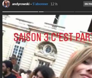La Casa de papel saison 3 : Andy Raconte à l'avant-première à Paris