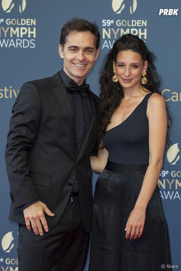 Pedro Alonso et sa compagne Tixie au Festival de Monte Carlo 2019