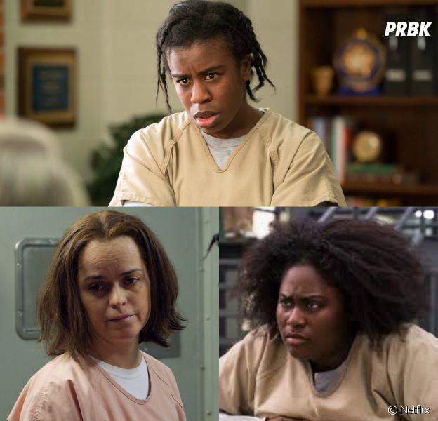 Uzo Aduba, Taryn Manning... les stars de Orange is the New Black dans la série VS dans la vie