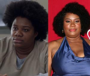 Orange is the New Black : Adrienne C. Moore (Cindy) dans la série VS dans la vie