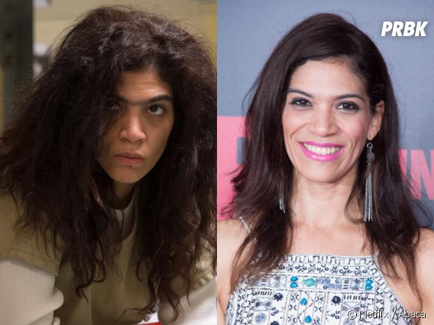 Orange is the New Black : Laura Gomez (Blanca) dans la série VS dans la vie