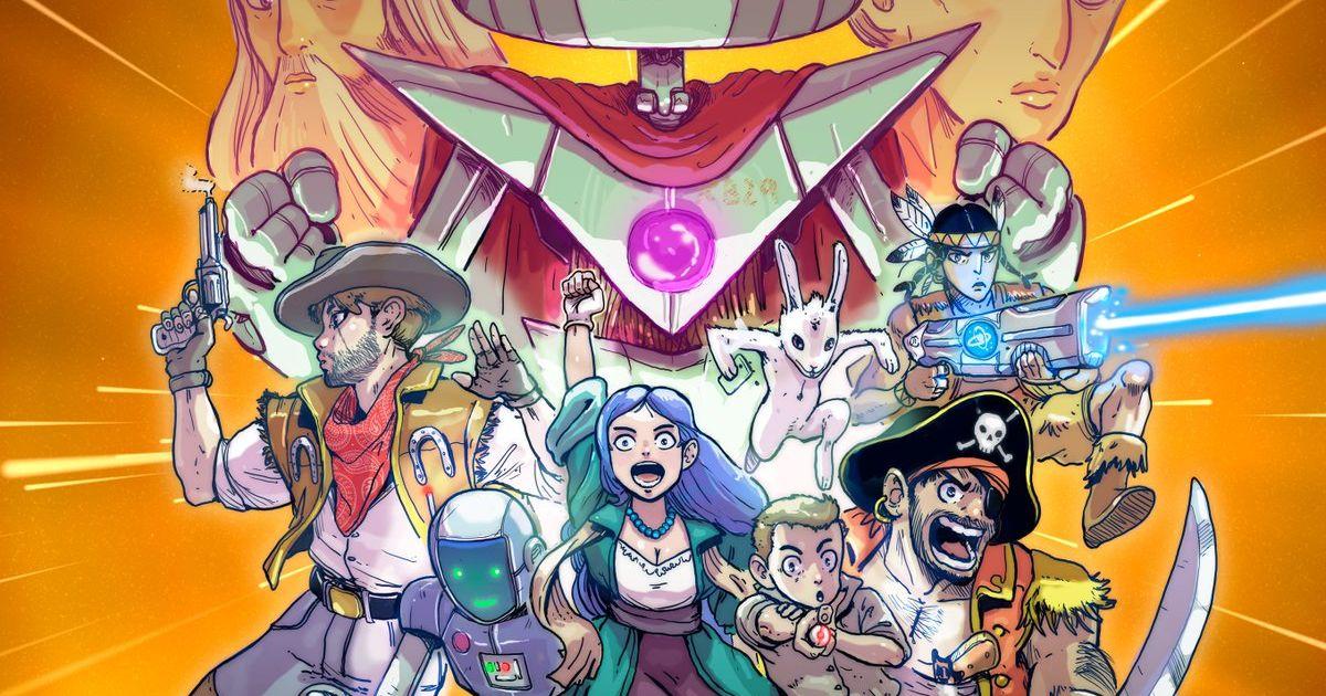 Cyprien manga dessin anim saison 3 ses projets d voil s pour l 39 pop e temporelle purebreak - Dessin de cyprien ...