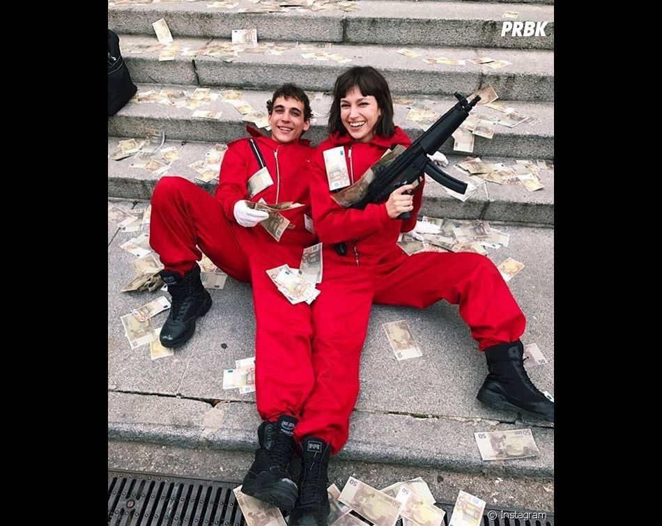La Casa de Papel : Miguel Herran et Ursula Corbero sur le tournage