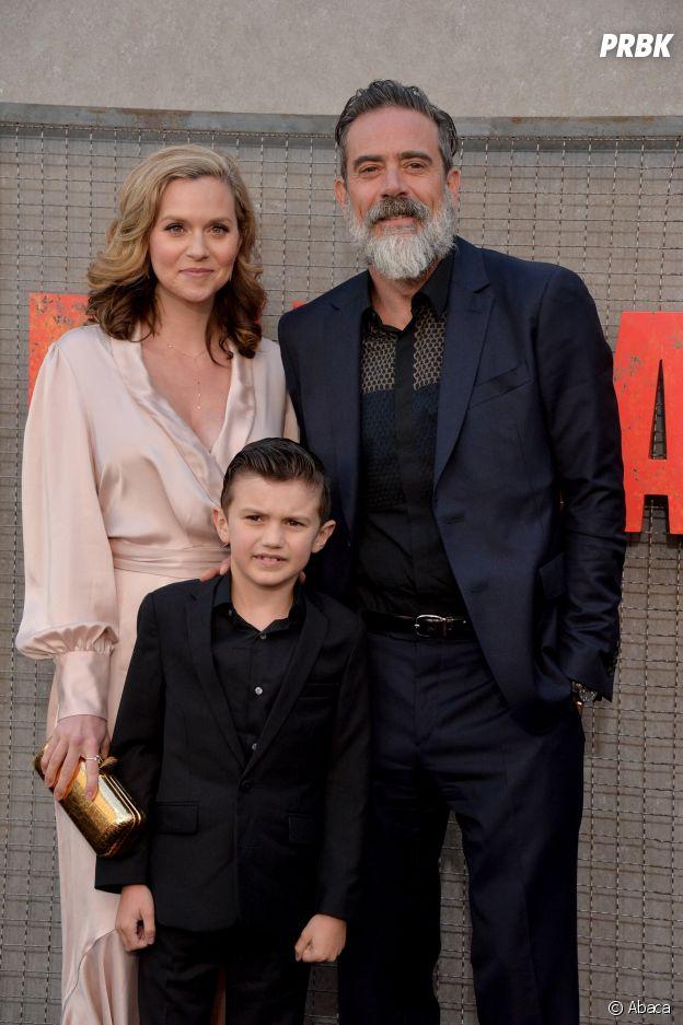 Hilarie Burton avec son mari Jeffrey Dean Morgan et leur fils Augustus