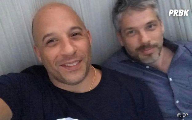 Vin Diesel et son frère jumeau Paul