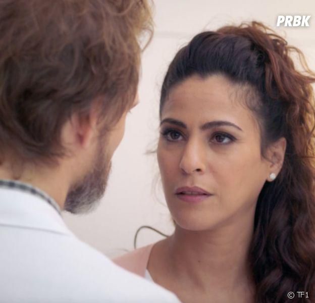 Demain nous appartient : Leïla va-t-elle garder le bébé de Samuel ? Samira Lachhab répond