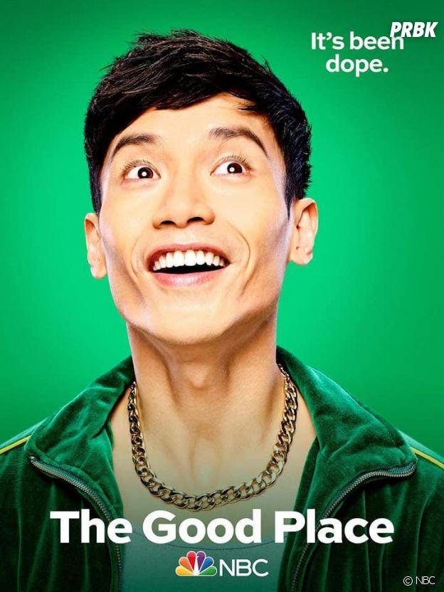 The Good Place saison 4 : l'affiche de Jason (Manny Jacinto)