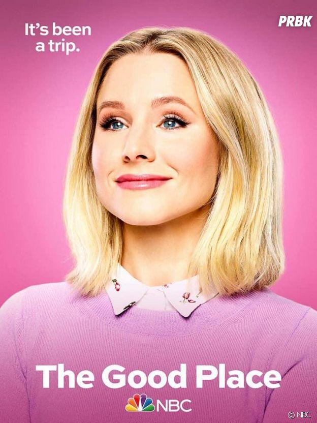The Good Place saison 4 : l'affiche de Eleanor (Kristen Bell)