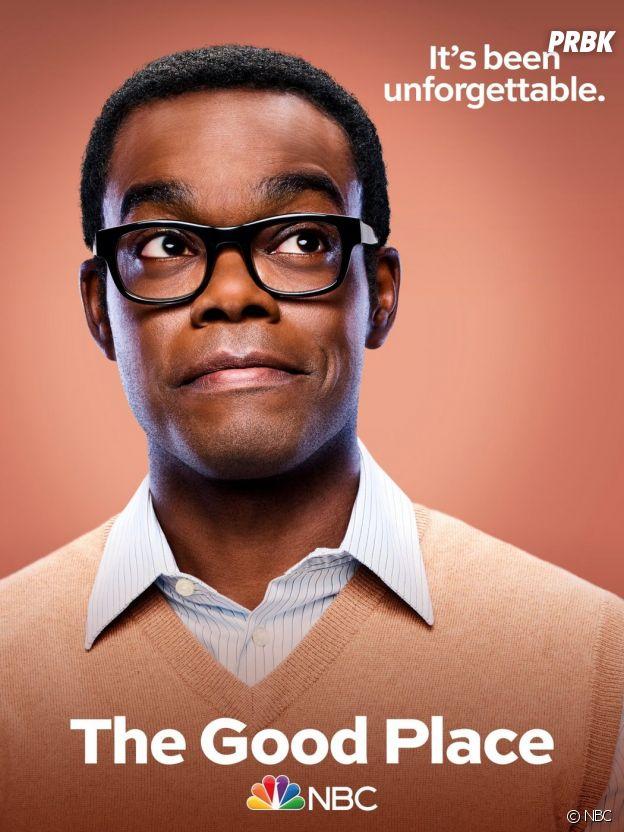 The Good Place saison 4 : l'affiche de Chidi (William Jackson Harper)