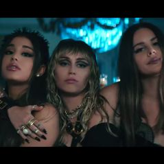 "Ariana Grande, Miley Cyrus et Lana Del Rey en mode badass dans le clip ""Don't Call Me Angel"""