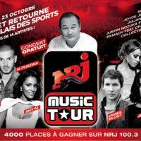 NRJ Music Tour 2010 à Paris ... Cauet à la présentation