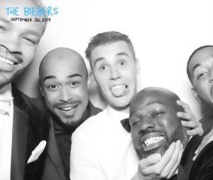 Justin Bieber entouré de ses potes à son mariage