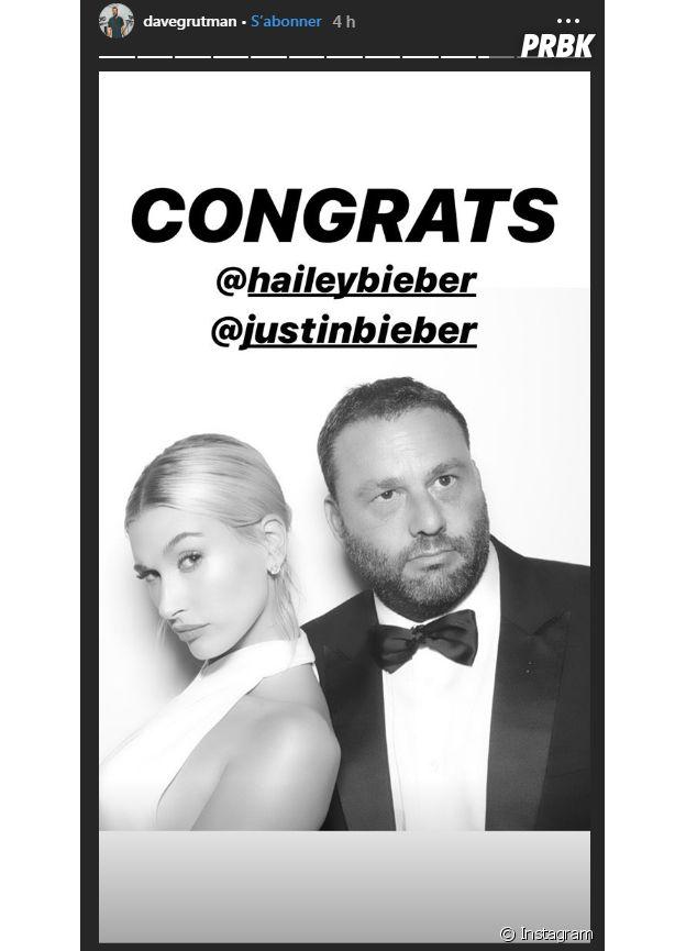 Hailey Baldwin mariée pour la seconde fois à Justin Bieber