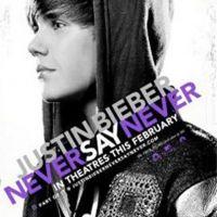 Justin Bieber ... Découvrez l'affiche de son film Never Say Never