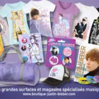 Justin Bieber est en France ... en grandes surfaces et magasins spécialisés musique