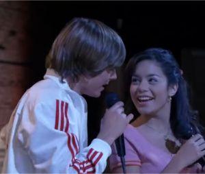 Vanessa Hudgens et Zac Efron chantent Breaking Free dans High School Musical