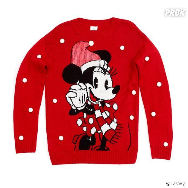 Le pull de Noël Disney
