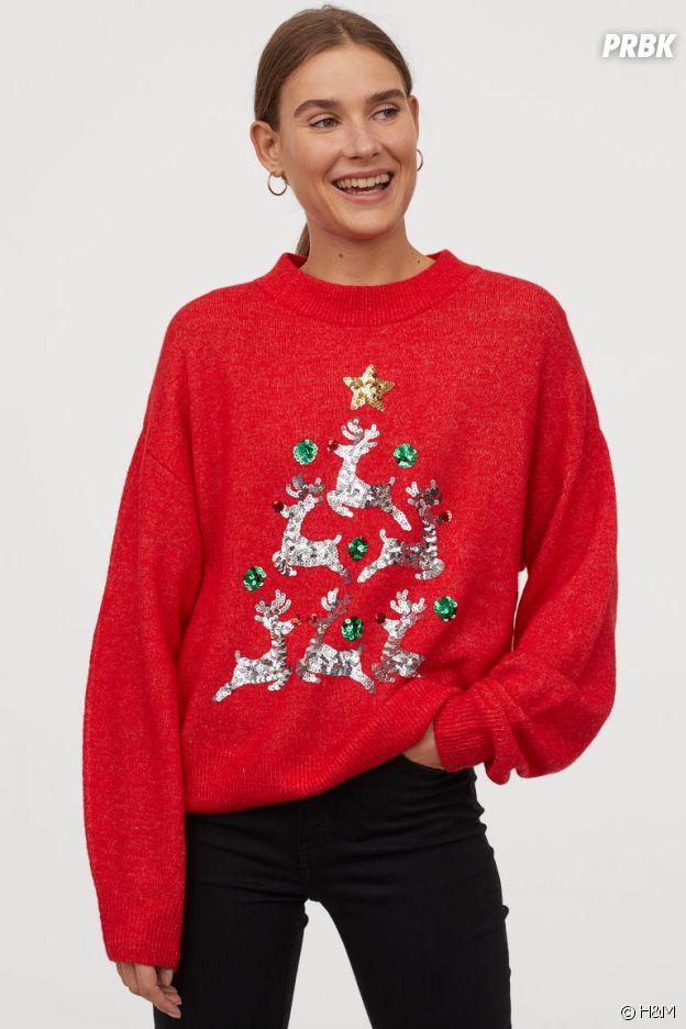Le pull de Noël H&M