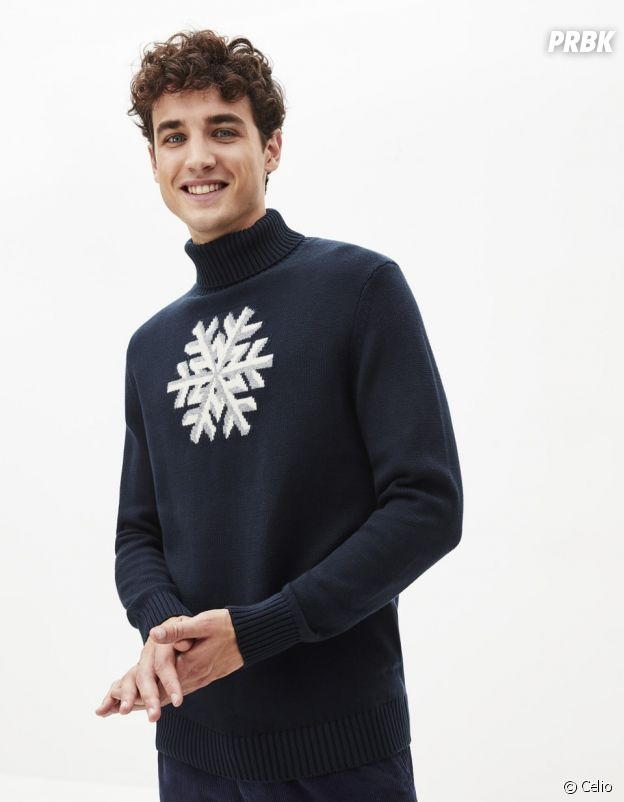Le pull de Noël Celio