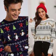 10 pulls de Noël pour homme et pour femme pour se mettre dans l'ambiance