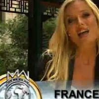 Virginie Dechenaud ... Elle speak english pour le concours Miss Monde 2010 (vidéo)