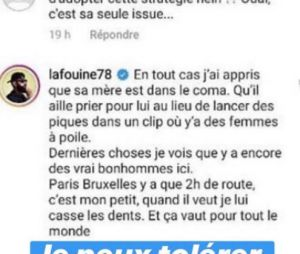 """La Fouine menace Damso de lui """"casser les dents"""", Booba réagit au clash"""