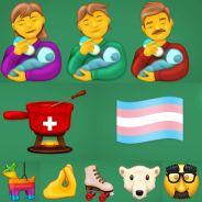Voici les 117 nouveaux emojis qui débarquent bientôt (avec la fondue mais toujours sans la raclette)