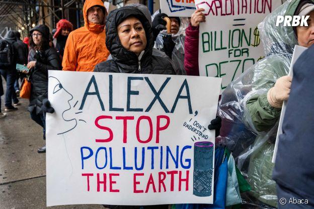 Jeff Bezos : sa société Amazon avait été visée par plusieurs manifestations contre le réchauffement climatique