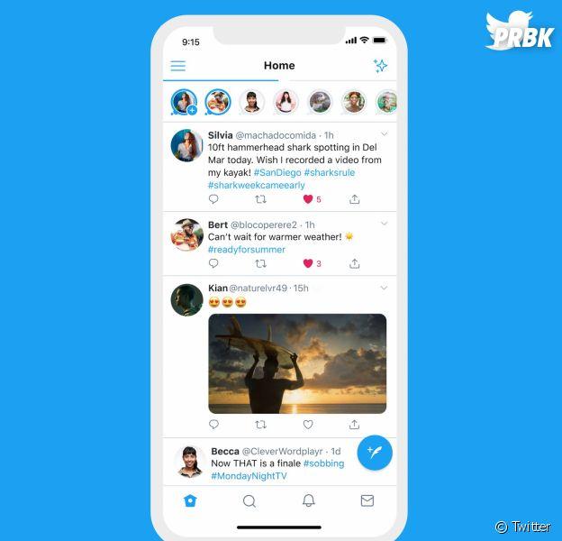 Twitter se met aussi aux stories en lançant Fleets