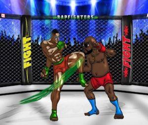 """Rap Fighters : le jeu mobile avec des octogones entre rappeurs """"pour faire du sale"""""""