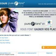 Justin Bieber ... Gagne tes places pour son concert privé sur Purefans