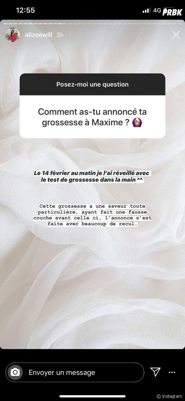 Alizée (Pékin Express 2020) révèle comment elle a annoncé sa grossesse à Maxime