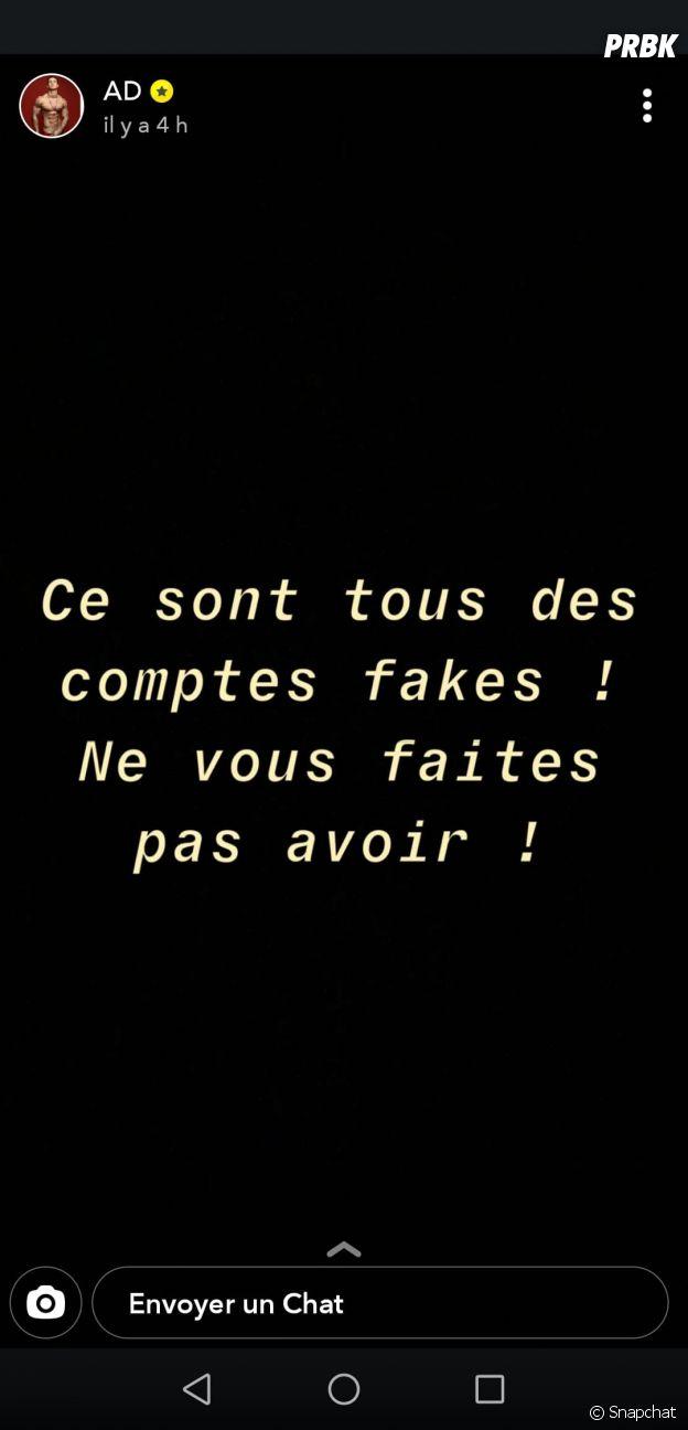 Adrien Laurent : son compte Instagram supprimé après ses lives polémiques