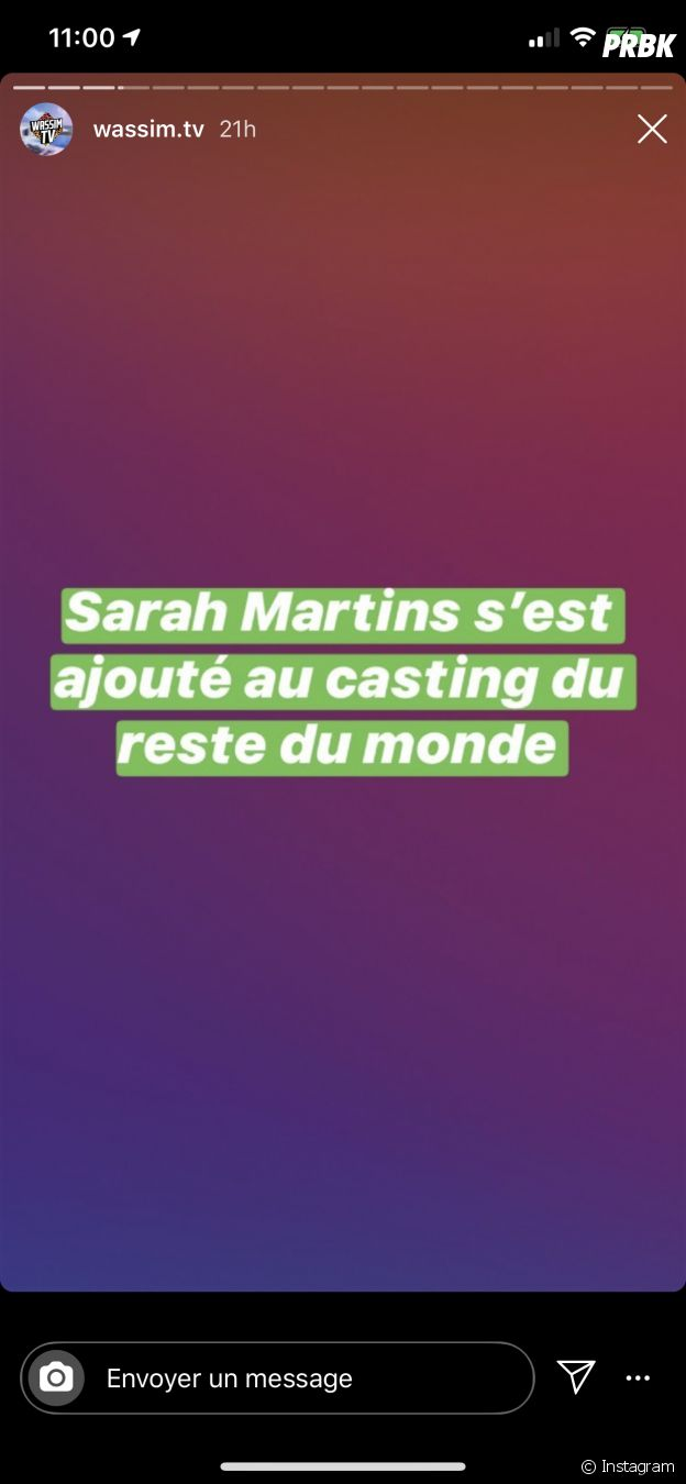 Sarah Martins au casting des Marseillais VS Le reste du monde 5 ?